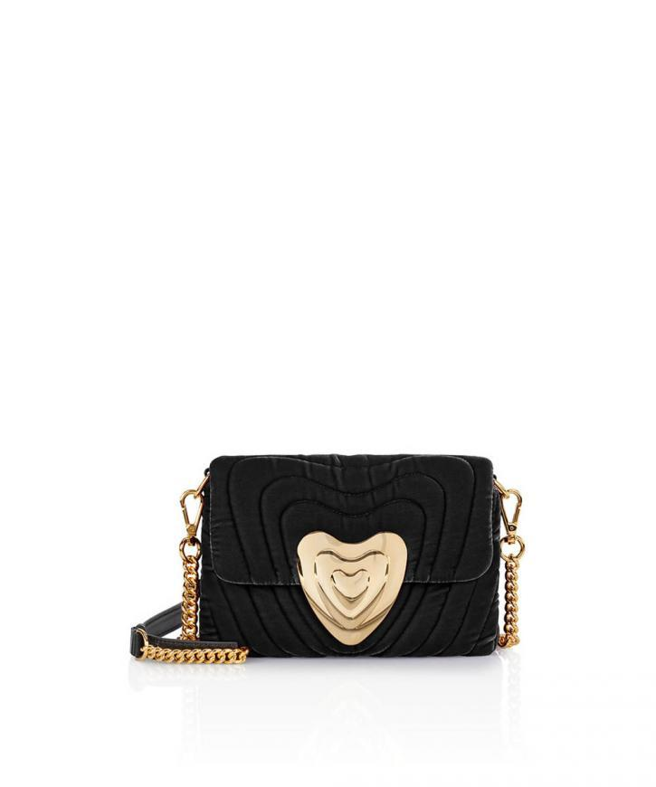 Small Velvet Heart Bag