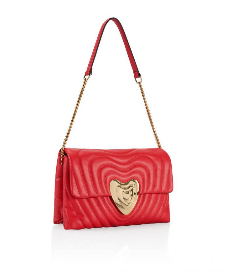 Medium Leather Heart Bag【バッグ】